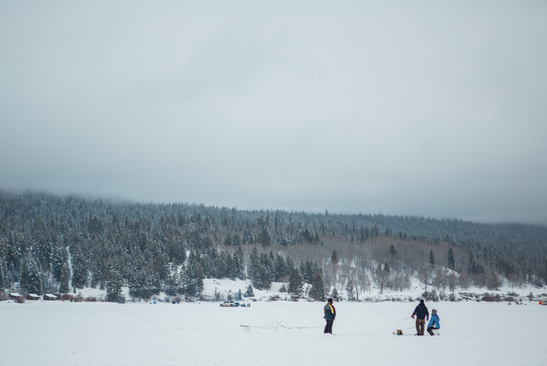 Freshwater Fisheries Society of BC - Brian Chans Ice Fishing